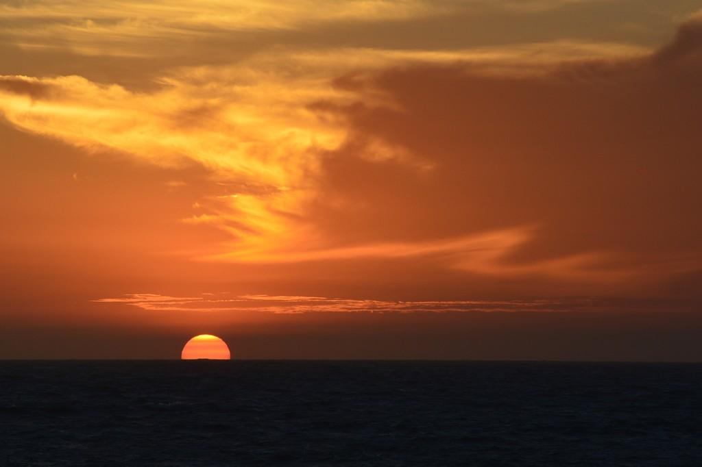 Fiery Sunset_DSC7100 by merrelyn