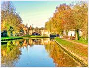 30th Nov 2016 - The Grand Union Canal, Stoke Bruerne