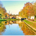 The Grand Union Canal, Stoke Bruerne
