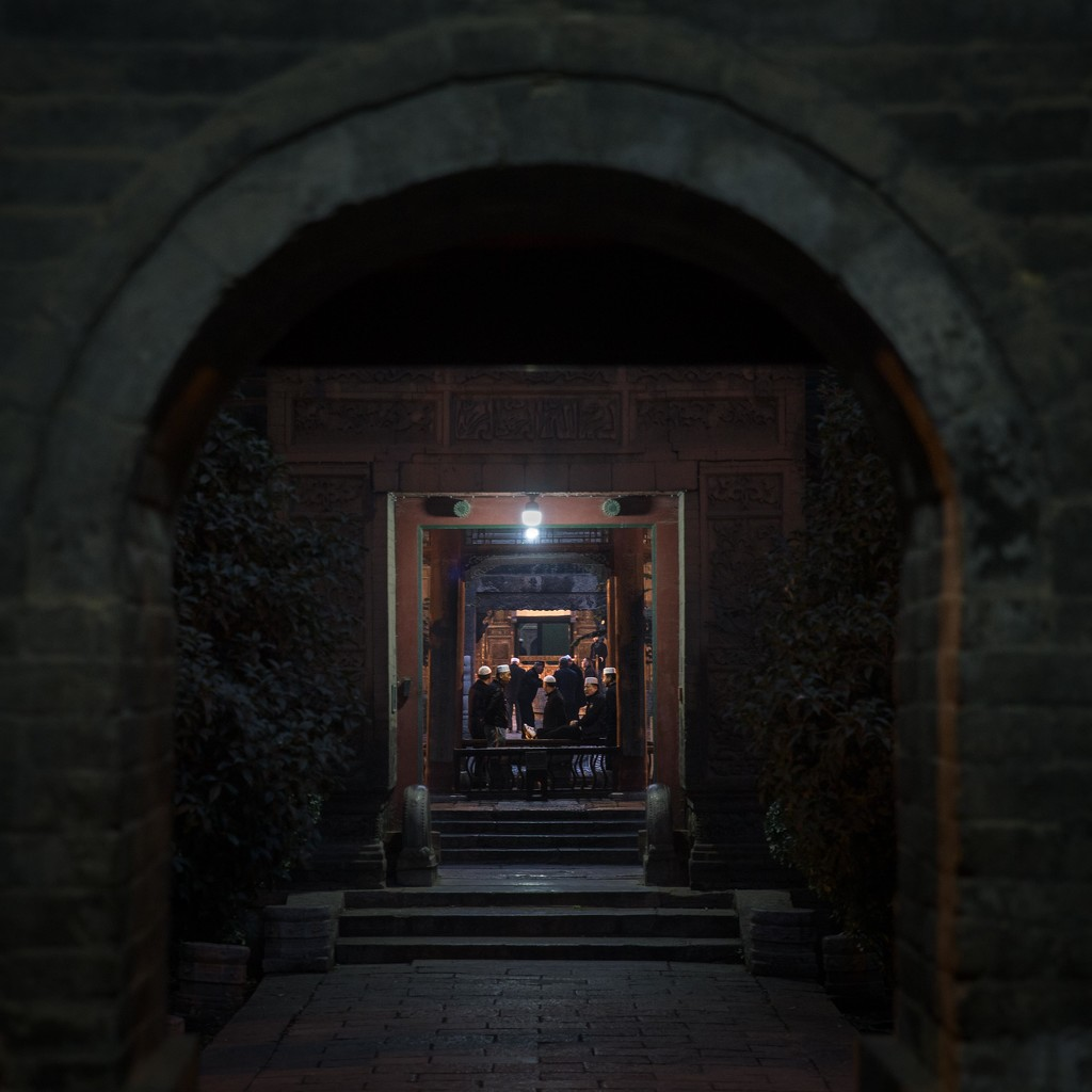 Looking Through the Gates of the Great Mosque of Xi'an by jyokota
