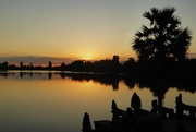 14th Nov 2016 - Cambodia Sunrise at Sra Srang