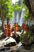 15th Nov 2016 - Cambodia - at Kulen waterfalls
