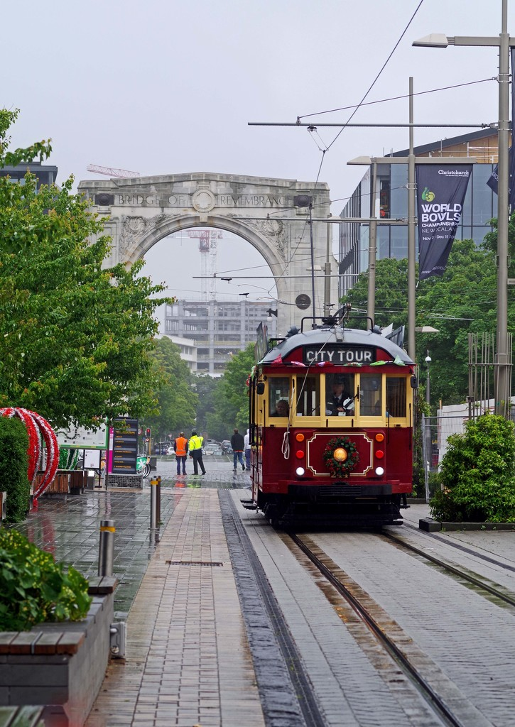Rainy day in Christchurch  by maureenpp