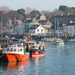 Weymouth Harbour, Winter by dorsethelen