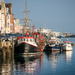 Weymouth Harbour Winter by dorsethelen