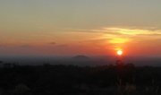 28th Nov 2016 - Cambodia: sunset at Preah Kral Monastery