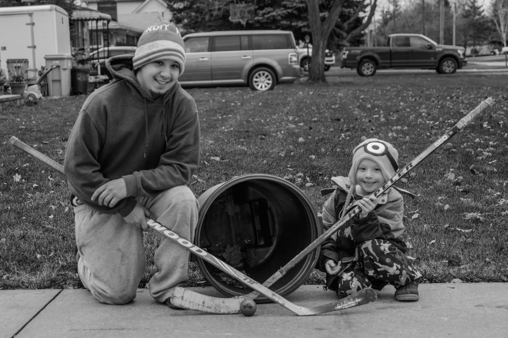 hockey practice with uncle chris by jackies365