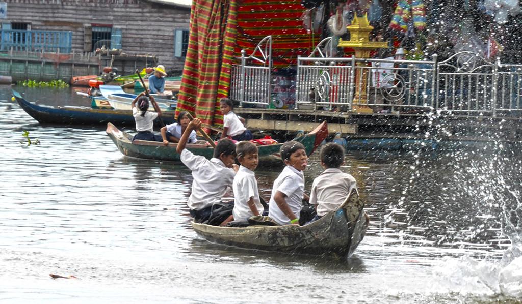 Cambodia: School run fun  by helenhall