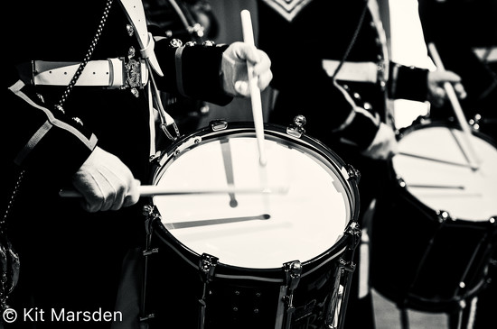 Band of the Royal Marines Drum Corps by manek43509