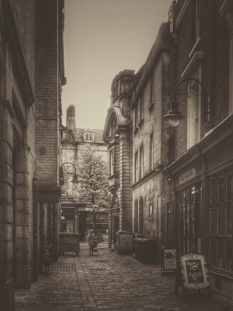 Alleyway  by rachelwithey