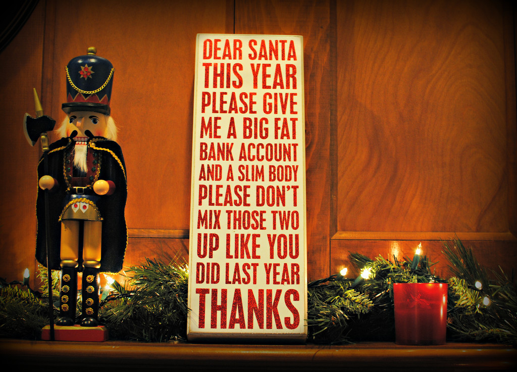Santa Screwed Up Big Last Year by alophoto