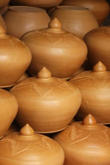 Cambodia: Pottery by helenhall