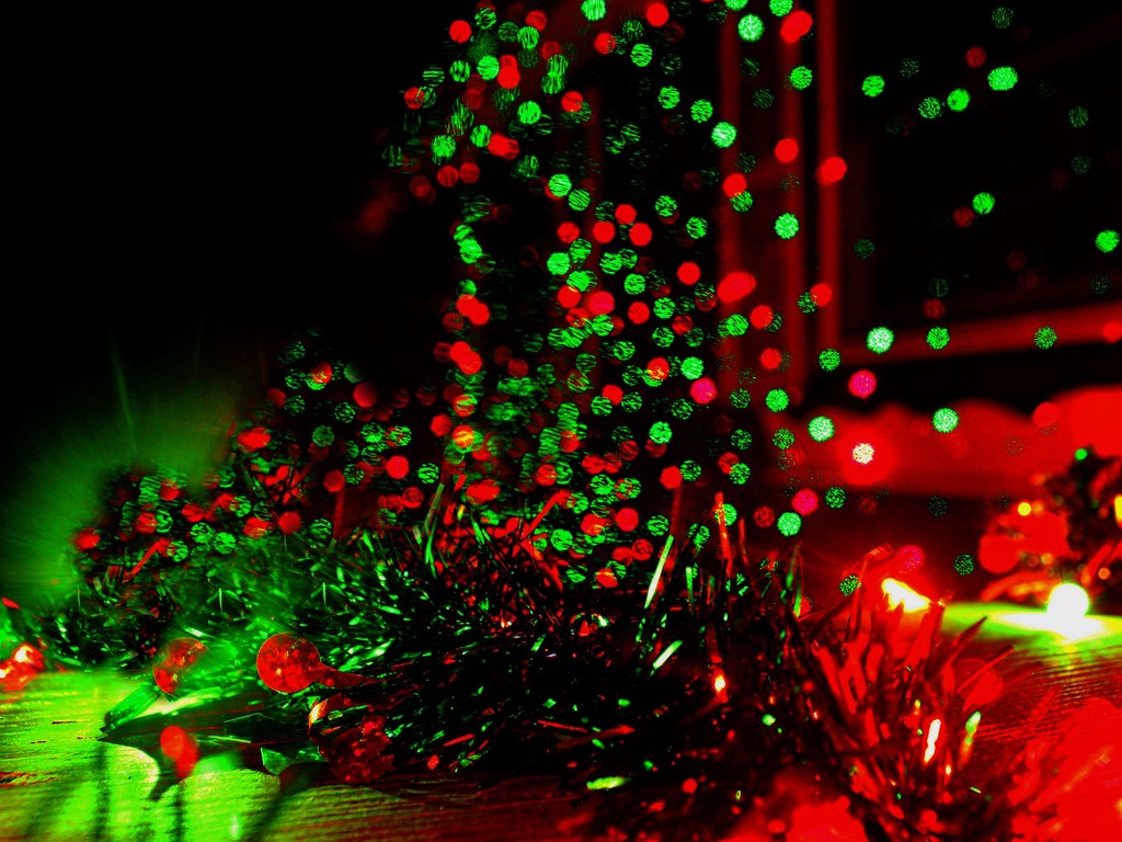 Christmas Light Fantasy by olivetreeann