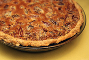 23rd Nov 2016 - Pumpkin-Pecan Pie