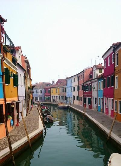 Colourful Houses of Burano Island near Venice  by carolmw