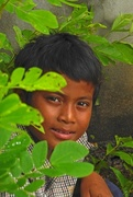 22nd Nov 2016 - Cambodia: Hidden fisher boy