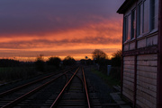 11th Dec 2016 - Rail Tracks to the Sun