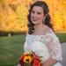 Pretty fall bride