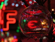 11th Dec 2016 - Transparent bauble