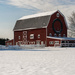 Christmas Barn by dridsdale