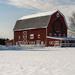 Christmas Barn by dridsdale