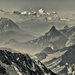 a view of the Alps mountains by jerome