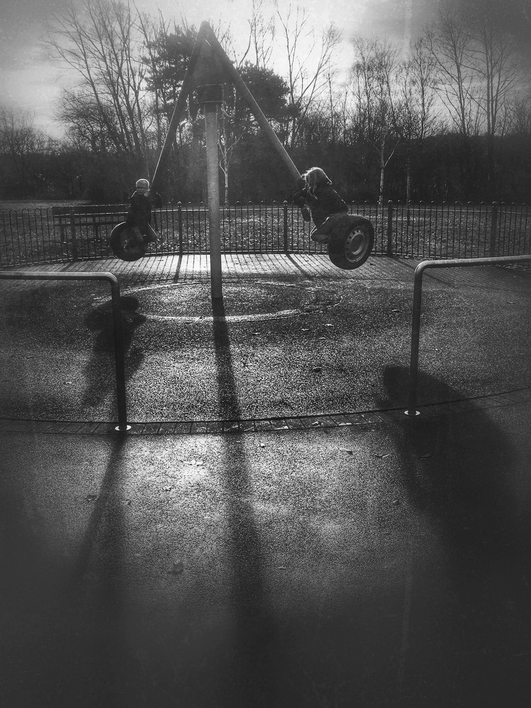 Park shadows  by rachelwithey