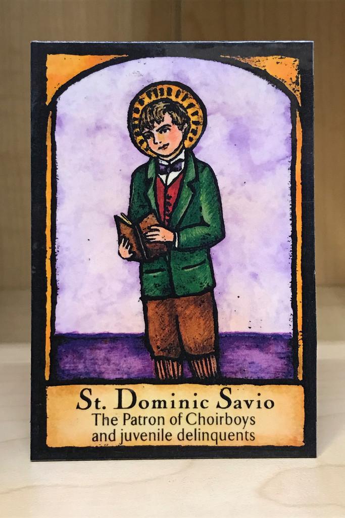 St Dominic Savio by jaybutterfield