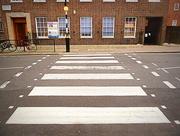 19th Dec 2016 - Z is for zebra crossing