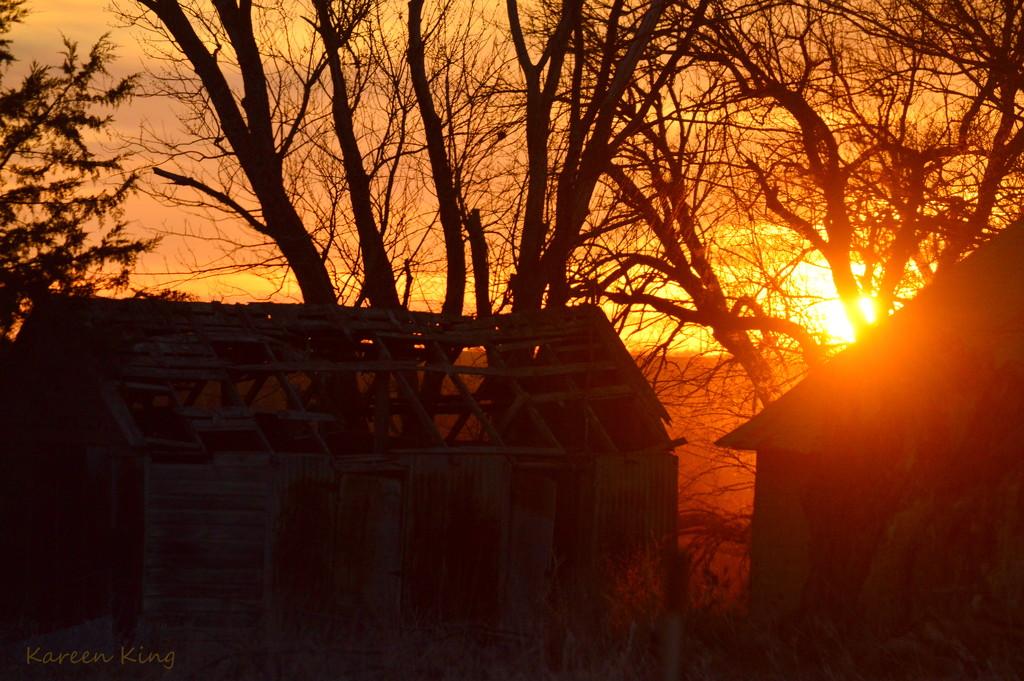 Kansas Sunrise 12-22-16 by kareenking