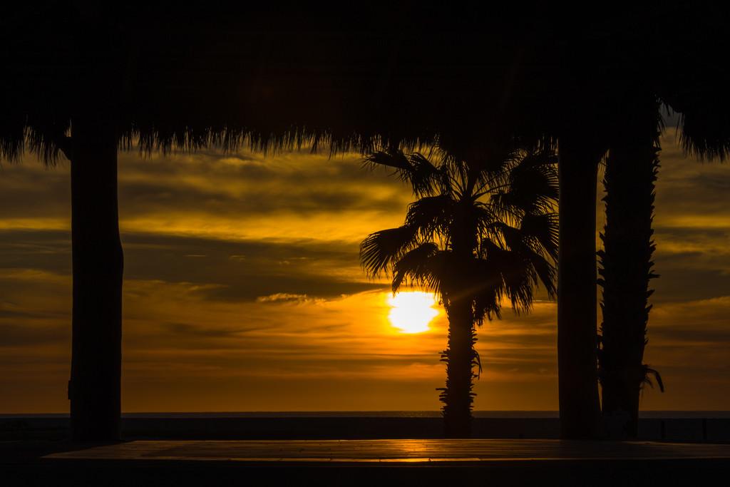 Sunrise over Sea of Cortez by jyokota