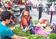 24th Dec 2016 - Market lady selling vegetables