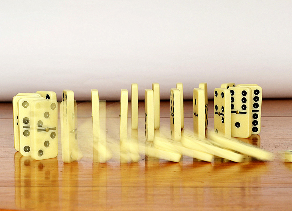 Domino Effect by salza