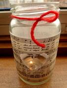 24th Dec 2016 - Candle jar