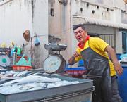 12th Dec 2016 - Fish Seller