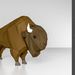 Low-Poly Bison