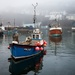 Boats in the mist - Mevagisey by swillinbillyflynn