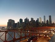 31st Dec 2016 - Downtown Manhattan at Sunset