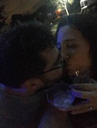 1st Jan 2017 - New years kiss