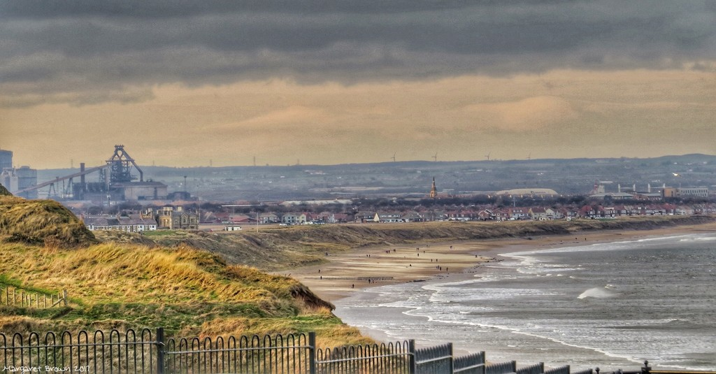 From Saltburn to Redcar by craftymeg