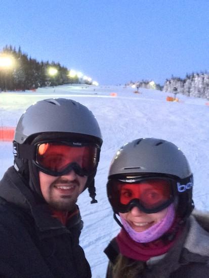 Snowboarding Pros by Scrivna