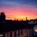 Sunset over Colegate, Norwich
