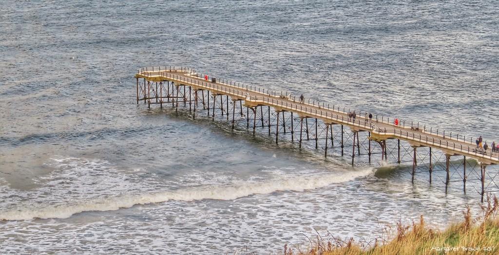 Saltburn Pier by craftymeg