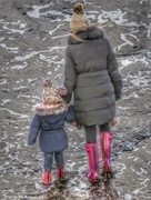 7th Jan 2017 - Pink Wellies and Bobble Hats