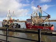 7th Jan 2017 - Boats At Wells