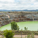 Open pit no longer used