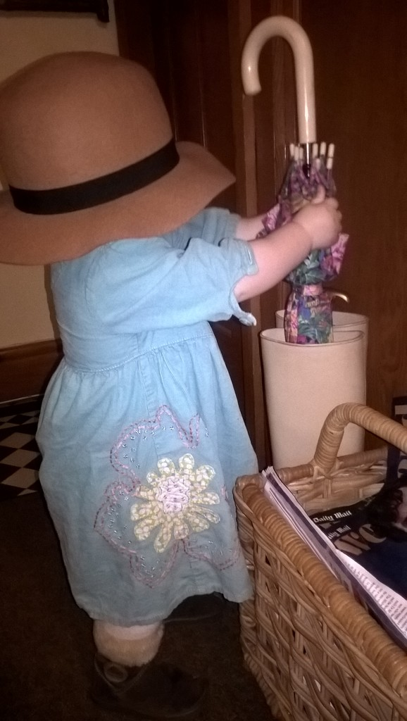 It's raining outside..so i'm dressing up at Nanny's. by brennieb