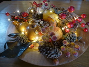 4th Jan 2017 - A table decoration.