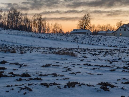 frosty night by haskar