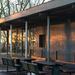 Cafe at sunrise